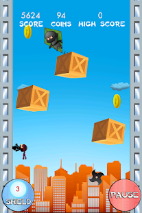 Ninja Jump Deluxe - screenshot