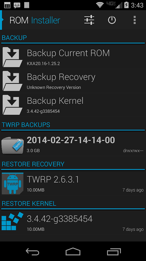 ROM Installer Screenshot 3