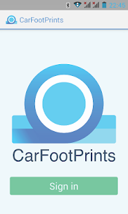 CarFootPrints - screenshot