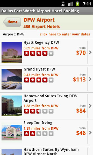 Hotels Near Dallas Airport