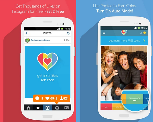 Turbo Like for Instagram (Android and iOS app) - Get FREE