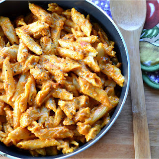 One Pot Manly Cheesy Chicken Penne