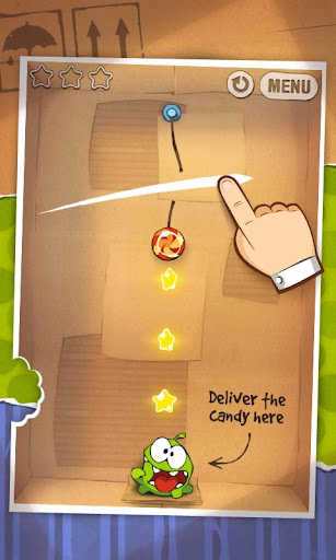 cut-the-rope-lite for android screenshot