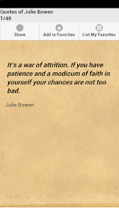 Quotes of Julie Bowen - screenshot