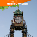 Chester, UK, Street Map icon