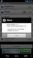 Screenshot of Smart Settings – Quick Setting