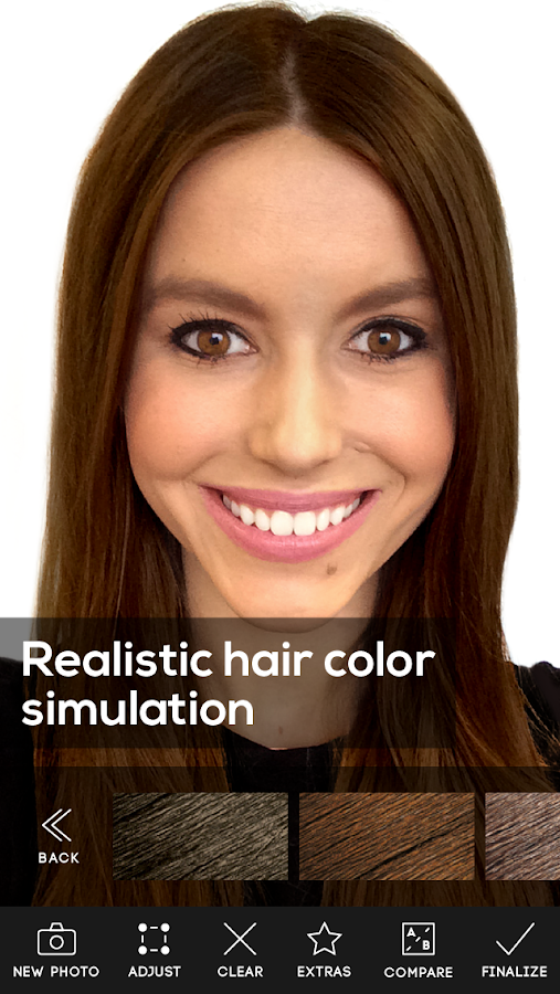 Hair Color Studio Premium Screenshot 1