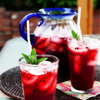 Blackberry Mint Drink Recipes