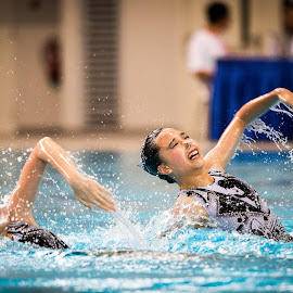 by Daniel Chua - Sports & Fitness Watersports ( expression, water, effect, swimming, emotion )