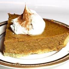 Sugarless Pumpkin Pie