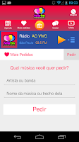 Screenshot of Rádio Feliz FM