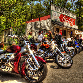 Rabbit Hash, KY by Kevin Turner - Transportation Motorcycles