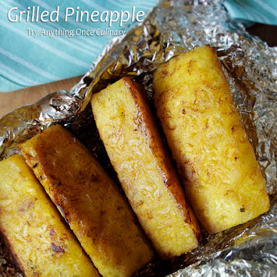 Grilled Pineapple with Vanilla Bean