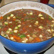 Barb's Hearty Beef and Vegetable Soup