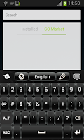 Screenshot of Free Keyboard Black