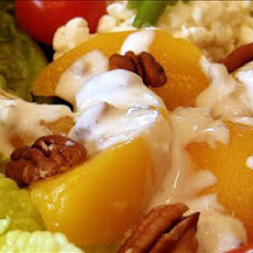 Peach and Walnut (or Pecans) Salad