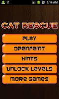 Screenshot of Cat Rescue PRO