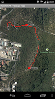 Screenshot of Handy GPS (free)