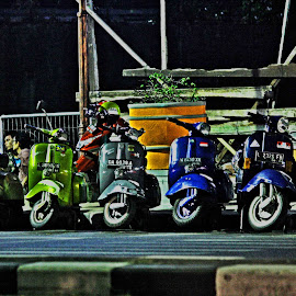 vespaaa by Rohmad Arifin - Transportation Motorcycles