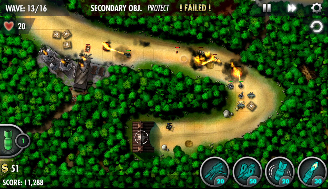 iBomber Defense Pacific Screenshot 11