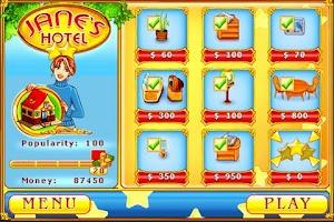 Screenshot of Jane's Hotel