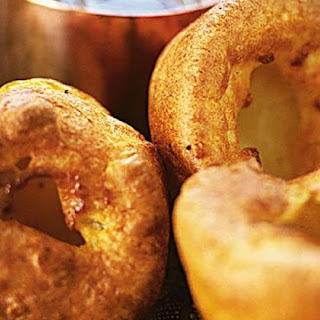 Mustard Yorkshire puddings