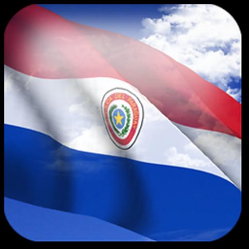 3D Paraguay Flag LWP + 個人化 App LOGO-硬是要APP
