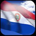 3D Paraguay Flag