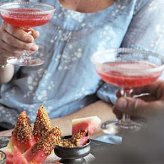 Rose-scented Strawberry Cocktails