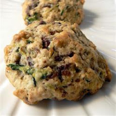 Courgette Choc Chip Cookies