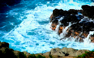 Screenshot of Ocean Waves Live Wallpaper