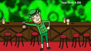 Screenshot of St Patrick's Day: Drunk Lep