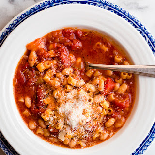 White Bean Stew with Tomatoes and Ditalini