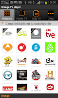 Screenshot of TV móvil
