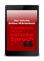 Screenshot of Das Kölsche Online-Wörterbuch