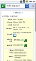 Screenshot of MIKARE CRM