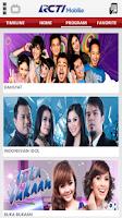 Screenshot of RCTI Mobile