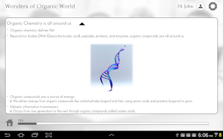 Screenshot of Learn Organic Chemistry