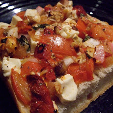 Grilled Veggie French Bread Pizza