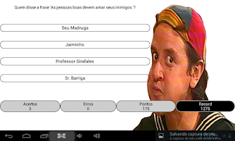 Screenshot of Quiz - Chaves