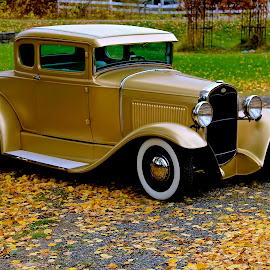 1930 ford by Judy Lachapelle - Transportation Automobiles