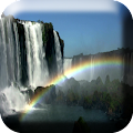 Download Waterfall & Rainbow Wallpaper APK