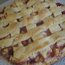 Apple Cranberry Lattice Tart