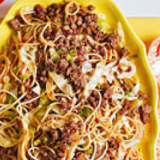 Tingly Szechuan Pepper Beef Noodles