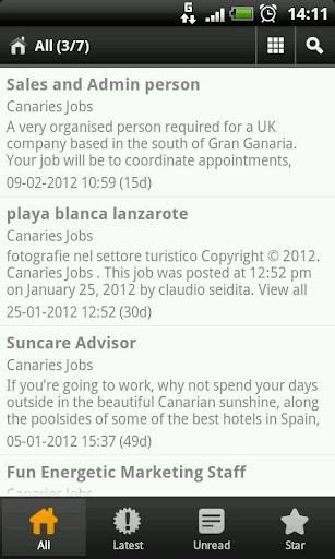 Canaries Jobs