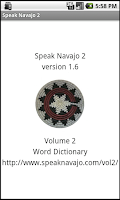 Screenshot of Speak Navajo Volume 2 Language