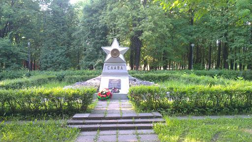Памятник установлен в центральной части города кировска ленинградской области, рядом с улицей кирова.