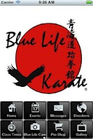 Screenshot of Blue Life Karate