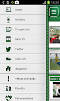 Screenshot of Real Betis App Oficial