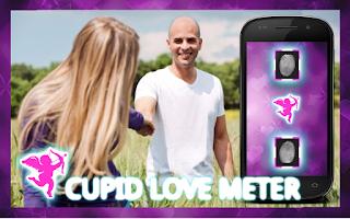 Screenshot of Cupid Love Meter